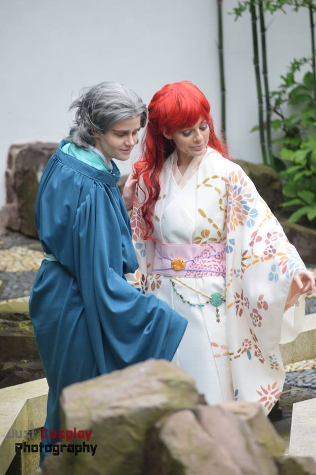 Twelve Kingdoms Juuni Kokki Youko Cosplay by Neoqueenhoneybee Rakushun Cosplay by Melanie