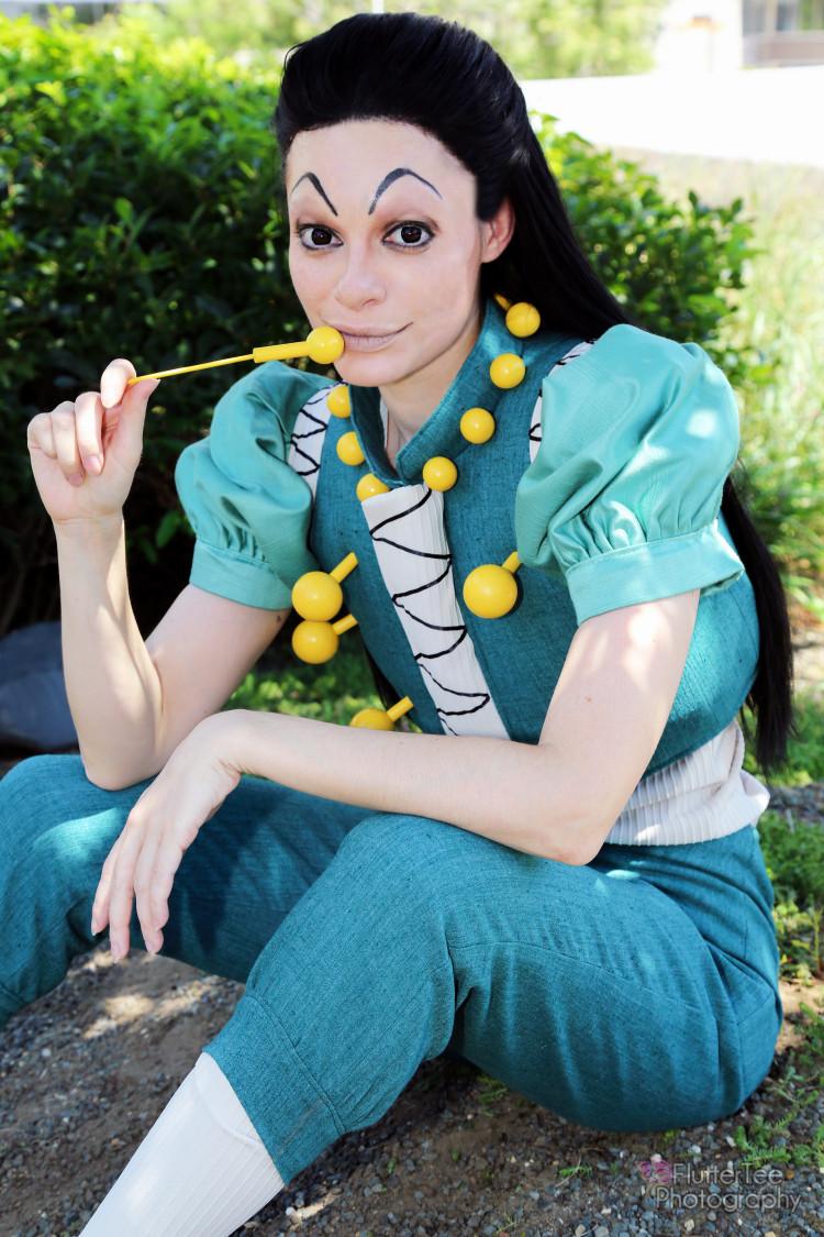 Illumi Zoldyck Hunter Exam cosplay by Neoqueenhoneybee